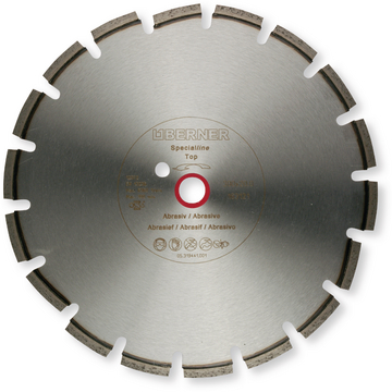 Disque diamant SPECIALline Top 350X25,4 à eau & à sec